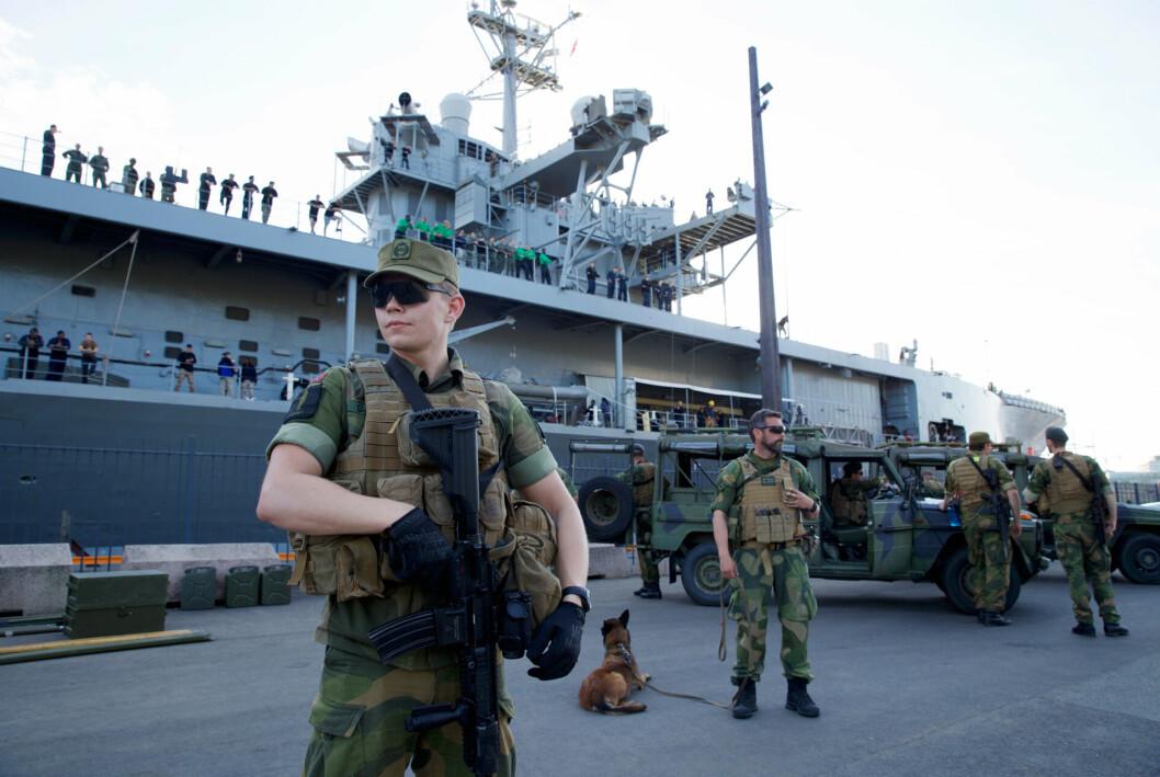 PÅ VAKT: Vi gjenopptar trening, fortsetter innrullering av soldater og utvikler oss som beredskapsorganisasjon i møte med fremtidens krav, skriver generalmajor Michelsen.