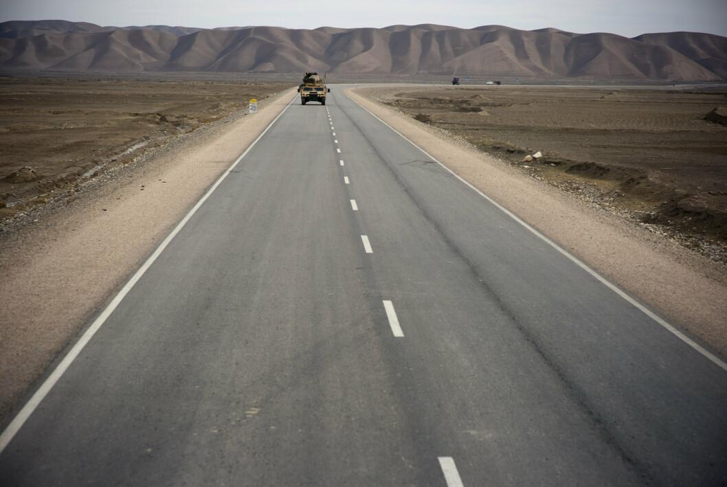 AFGHANISTAN: Dette bildet er tatt i forbindelse med en reportasje til Afghanistan i 2012. Den nylige Afghanistan-undersøkelsen viser at hver tiende veteran har psykiske plager etter tjenesten i landet.