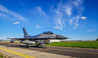 Nesten daglige QRA-oppdrag for danske F-16-fly i Litauen