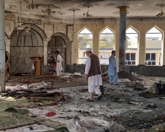 Kilder: Minst 50 drept i eksplosjon i moské i Afghanistan