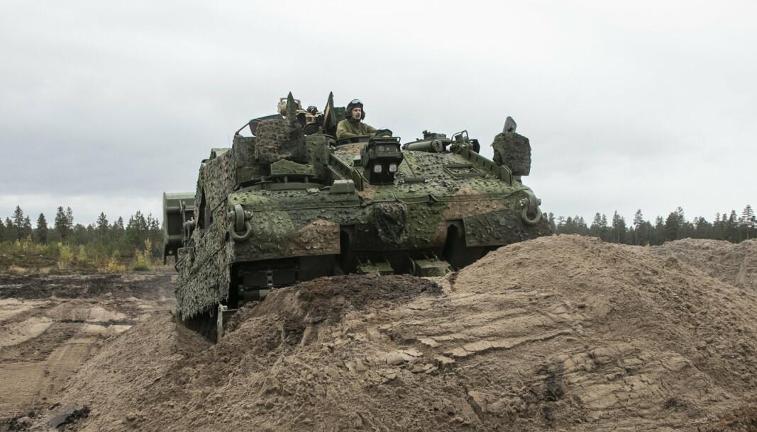 WISENT 2: De nye ingeniørvognene veier 62 tonn og skal sørge for mobilitet for Hærens kampavdelinger .
