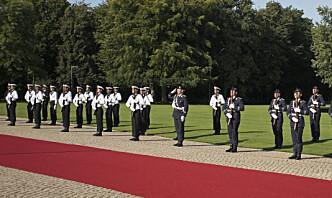 Tyske soldater utestenges for mistanke om høyreekstremisme