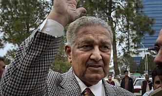 «Den pakistanske atombombens far» er død