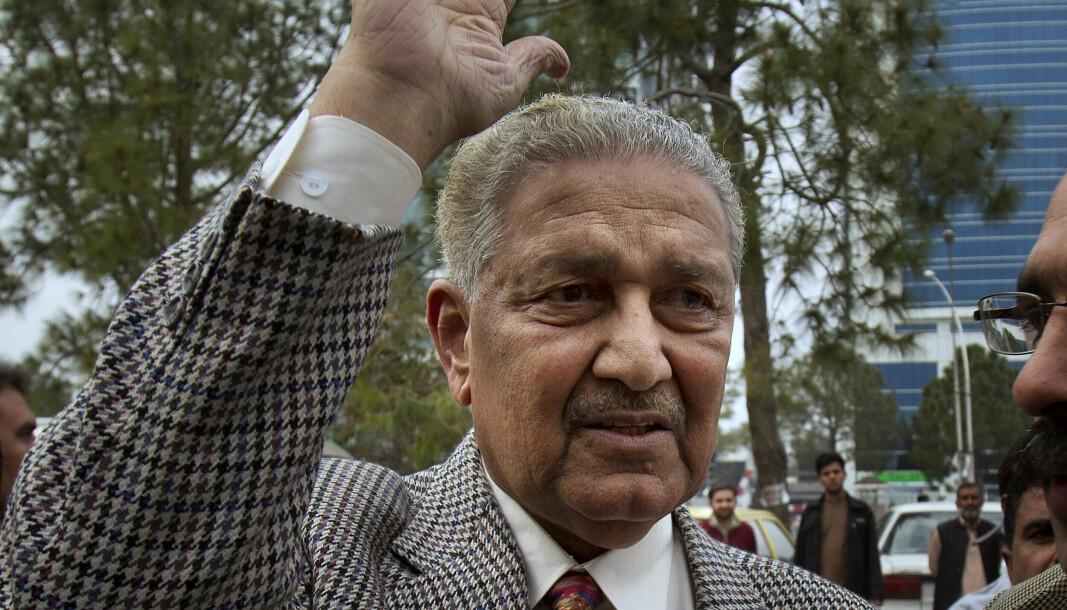 KJERNEFYSIKER: Abdul Qadeer Khan på et bilde fra 2013.
