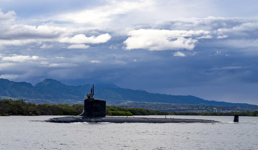 HEMMELIGHETER: Dette arkivbildet viser ubåten USS Missouri i Virginia-klassen.