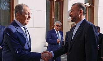 Iran åpner for strategisk partnerskap med Russland