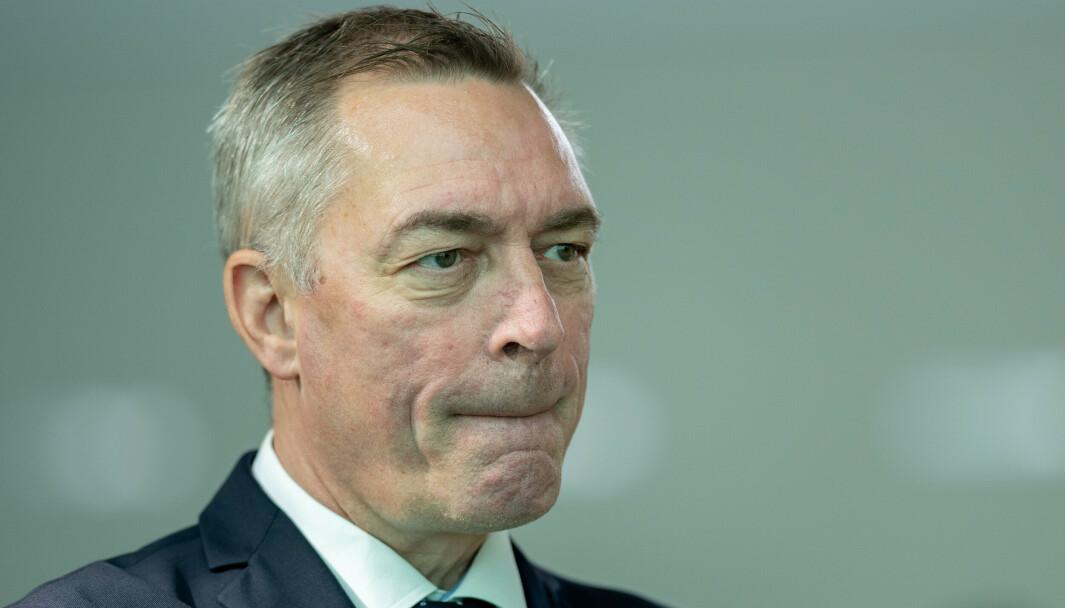 KONTROVERSIELT: Ansettelsen av Frank Bakke-Jensen som fiskeridirektør har vært kontroversiell fra starten.