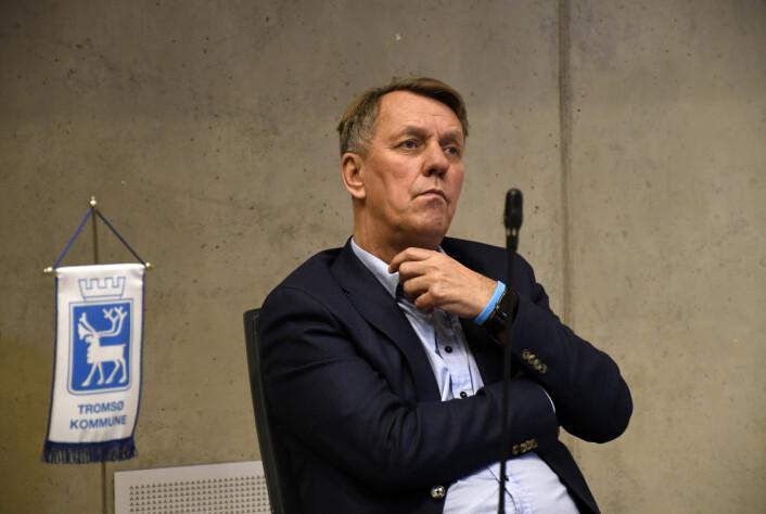 VURDERER: Tromsø-ordfører Gunnar Wilhelmsen ser mange muligheter med Sydspissen.