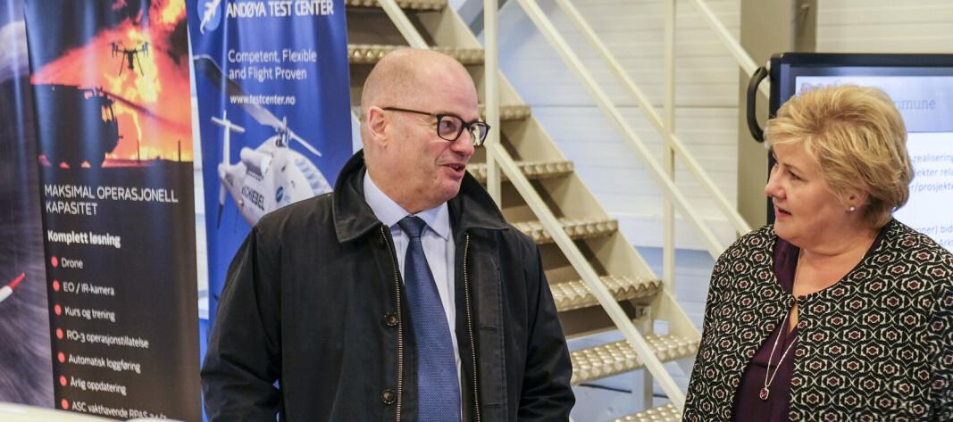 Odd Roger Enoksen blir ny forsvarsminister