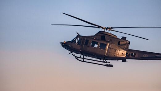Kongsberg-saken: Forsvaret flyttet to helikoptre for å støtte politiet