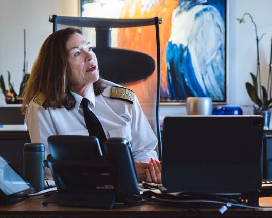 Elisabeth Natvig fortsetter som sjef for Forsvarsstaben