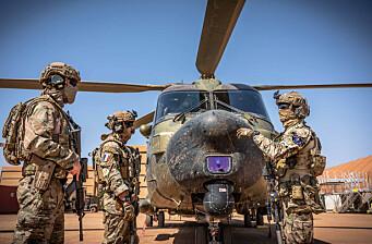 Sverige planlegger stegvis Mali-exit