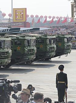 Financial Times: Kina testet hypersonisk missil