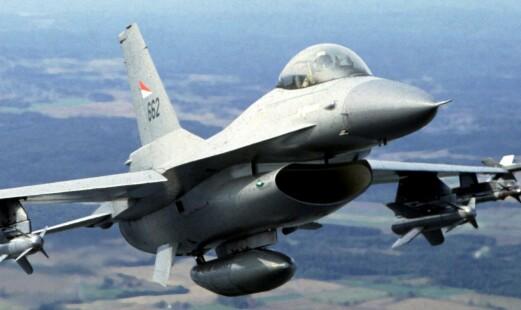 Tyrkia kjøper F-16 fra USA