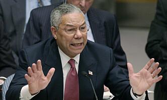 Colin Powell, som forsvarte Irak-invasjonen til FN i 2003, er død
