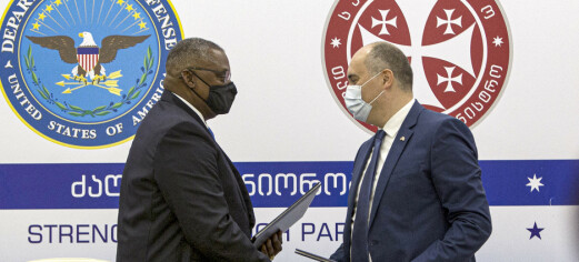 USA skal støtte Georgias forsvar i ytterligere seks år