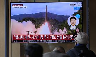 USA fordømmer Nord-Koreas prøveskyting