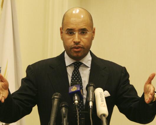 Etterlyst Gaddafi-sønn kan bli Libyas neste president