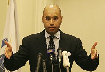 Etterlyst Gaddafi-sønn - Libyas neste president?