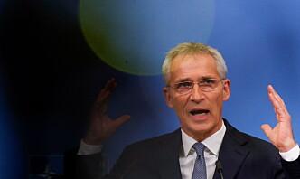 Stoltenberg: Ikke slutt på Nato-operasjoner utenfor alliansen