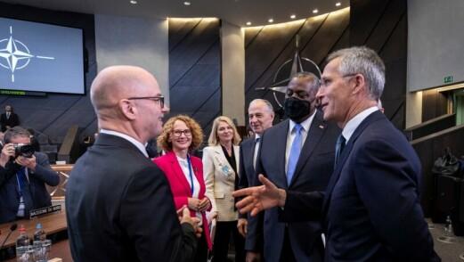 Forsvarsministeren: Ny Nato-strategi passer godt inn i regjeringens forsvarspolitikk