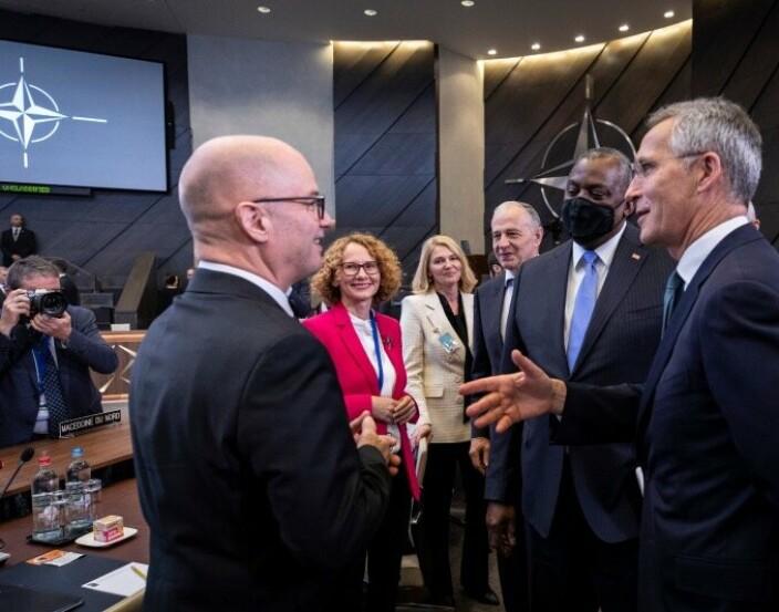 Nato vedtok hemmelig forsvarsstrategi