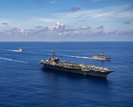 Biden: USA kan forsvare Taiwan mot Kina