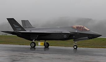 Snart tar F-35 Nato-oppdrag fra Evenes
