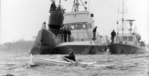 Da en russisk ubåt ble landkrabbe i Sverige