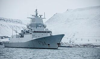 KNM Thor Heyerdahl besøkte Svalbard