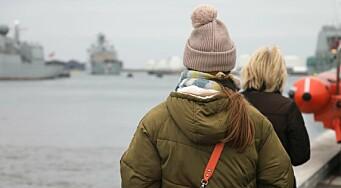 Dansk fregatt på oppdrag mot pirater