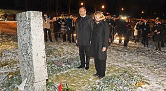 Huitfeldt og Lavrov hedret sovjetiske soldater
