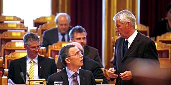 Jagland stemte SV etter Libya-bombingen
