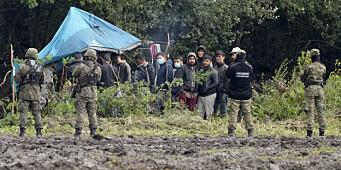 Polen sender flere soldater til grensa mot Hviterussland