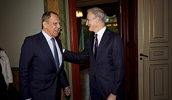 Støre møtte Lavrov: – Viktig at vi snakker sammen også der vi er uenige
